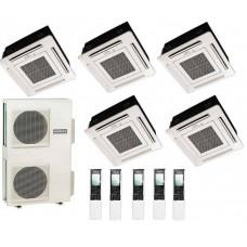 Мульти-сплит система Hitachi 2xRAI-25QPB + 2xRAI-35QPB + RAI-50QPB + RAM-110NP6B